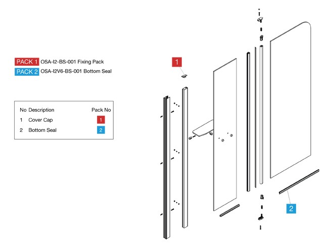 Fixed Bathscreens Spares