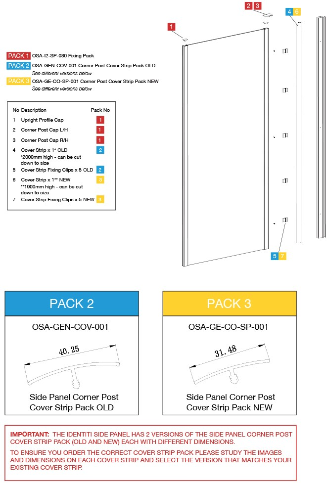 Side Panel Spares