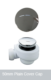 50mm Waste Cover Cap