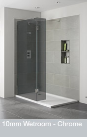10mm Wetroom - Chrome