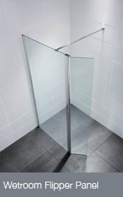 Wetroom Flipper Panel